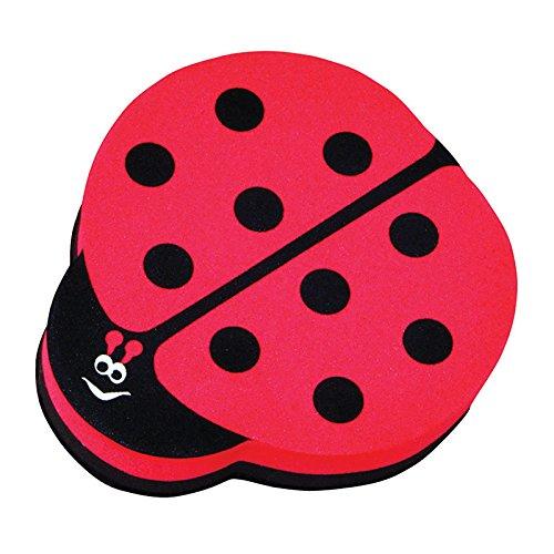 Ashley Productions Ladybug Magnetic Whiteboard Eraser ()