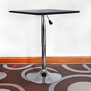 AmeriHome Square Adjustable Height Table