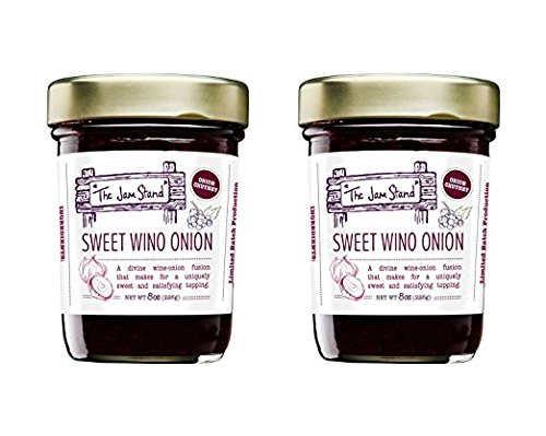 - The Jam Stand, Red Onion Red Wine Chutney, 10.5 oz (Pack of 2)