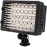 Neewer® CN-160 160PCS LED Dimmbare Ultrahoch Power Panel Digitalkamera / Camcorder Videolicht Videolampen Videobeleuchtung für Canon, Nikon, Pentax, Panasonic, Sony, Samsung und Olympus Digital SLR Kameras (CN-160)