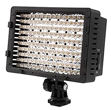 neewer 160 led cn 160 dimmable ultra high power panel digital camera camcorder video