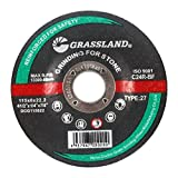 Grinding Disc, Concrete/Masonry/Stone Grinding wheel - 4-1/2'' x 1/4'' x 7/8'' - T27 - (10 PACK)