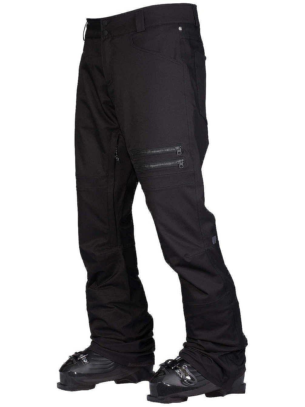 アルマダ アトモア ストレッチパンツ メンズ B07DQMWHJK  ブラック Large