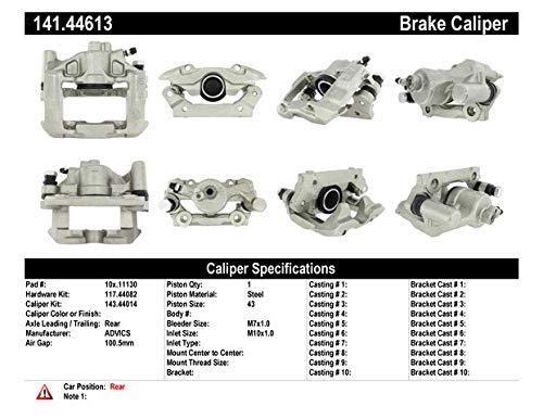 Centric Parts 141.44613 Semi Loaded Friction Caliper
