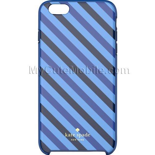 Kate Spade New York Case for Apple iPhone 6 Plus 5.5 - Diagonal Stripe Hybrid Cover