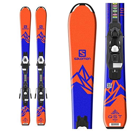 Salomon QST Max Jr. Kids Skis with C5 Ezytrak Bindings 2018 - 120cm