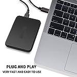 CIRAGO-500GB-Hard-Disk-Esterno-Portatile-Antiurto-USB30-25-inch-HDD-Storage-per-PC-Mac-Desktop-Laptop-MacBook-Chromebook-Nero