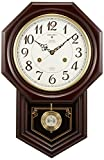SEIKO CLOCK ( Seiko clock ) wall clock chime and strike radio clock twin -Pas RQ205B