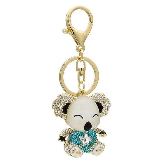 Jingyuu llavero en forma de Koala Trousseau Mignon para ...