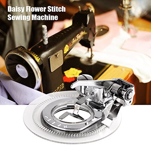 Janome Brother Kenmore Houkiper Universal Flower Stitch Sewing Machine Presser Foot Sewing Accessories for Singer Babylock