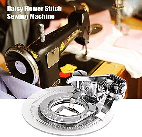 Prensatelas Daisy Flower Stitch de máquina de coser para hacer ...