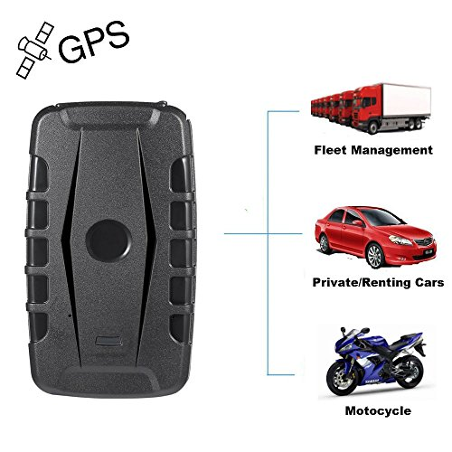 Car GPS Tracker for Vehicle Locator Anti-theft Anti-Lost Powerful Magnet 20,000mAh Waterproof GPRS Accruate Position 240 days Long Standby for Vehicles Container Cargo by TK-STAR