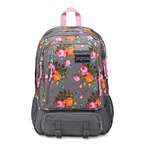 JanSport Envoy Laptop Backpack - Sunrise Bouquet Grey