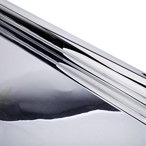 Teekland Reflective Film, 4'x100' Lightproof Reflective Mylar Film Roll