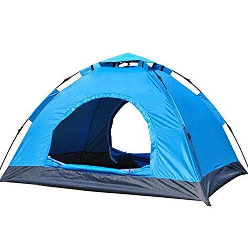 そんなにロイヤリティ額2秒オープンオートテント完全自動屋外ダブルキャンプテント防水日焼け止めキャンピングビーチテントトレッキングテント