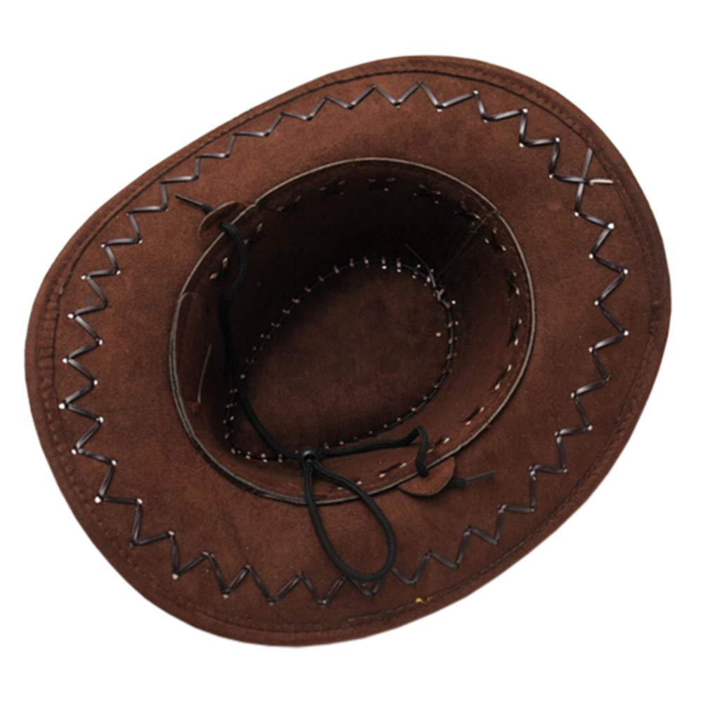 160ab1be2f753 Amazon.com   Kylin Express Stylish Outdoors Sports Cap Summer Protector  Cowboy Hat Sun Hat Black   Sports   Outdoors