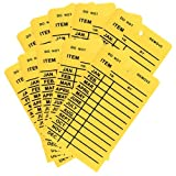 (Lot of 50) - INSPECTION TAGS - Fire Extinguisher, Fire Hose, Anything you would like to Inspect once a month.