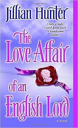 The Love Affair of an English Lord: A Novel (Boscastle Family Trilogy) by Jillian Hunter (2005-05-31)