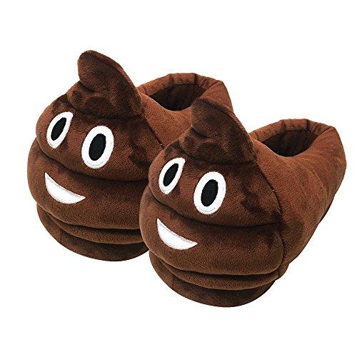 Leegoal Unisex Stuffed Slippers Non slip