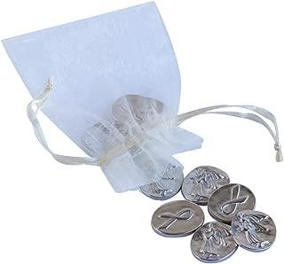product image for DANFORTH - Vilmain Awareness Angel Pocket Tokens - Bag of 10 Coins - Pewter