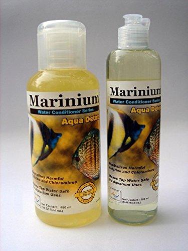 marinium Aqua Detox 480 ml anticloro Biocondizionatore Agua Acuario: Amazon.es: Hogar