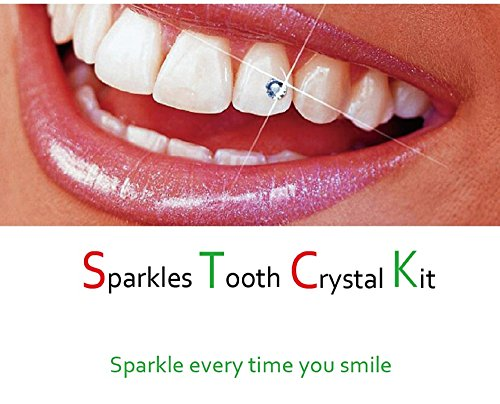 Belle G Tooth Crystal Kit - 20 Pieces Clear Crystals by sparkles