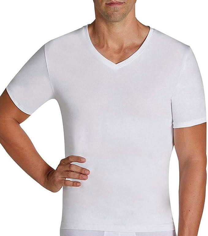 Camiseta Algodón Para Hombre de Ysabel Mora Negro: Amazon.es: Ropa ...