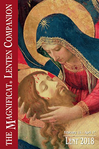 2018 The Magnificat Lenten Companion: Lent 2018 cover