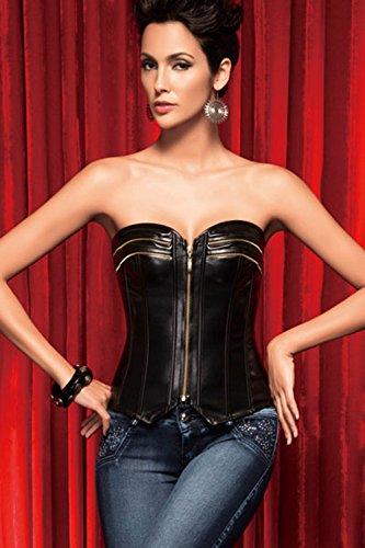 Czj-Innovation De las mujeres Sin tirantes Corsé de primera Faja de cintura Prendas modeladoras