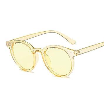 2THTHT2 Vintage Gafas De Sol Mujer Ojo De Gato Marca Redondo ...