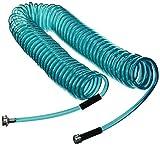 Plastair SpringHose PUW650B9-M-3OT-AMZ Light Polyurethane Lead Free Drinking Water Safe Marine/RV Recoil Hose