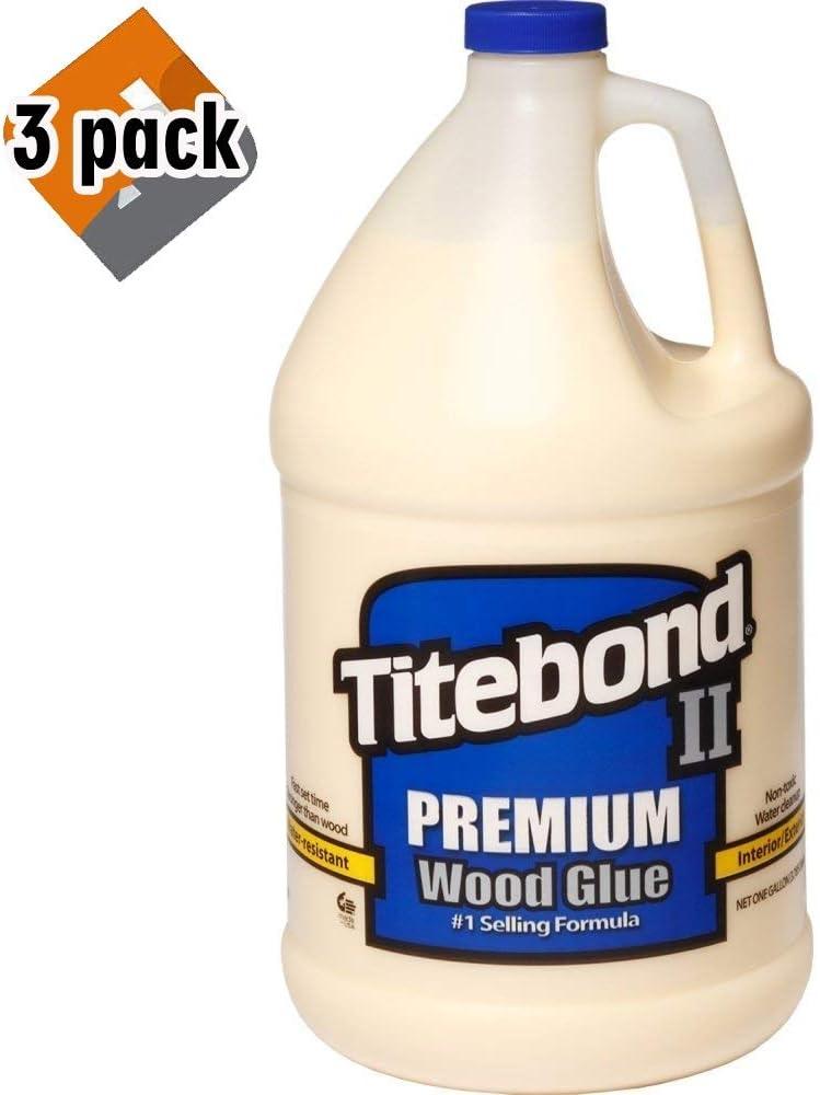 Titebond 5006 II Premium Wood Glue - Gallon - 3 Pack