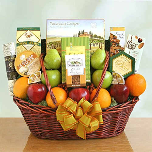 California Freshness Fruit & Gourmet Basket by GVC
