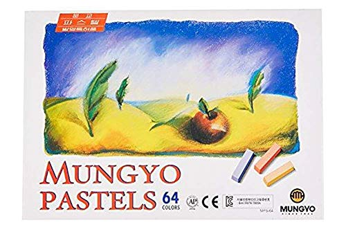 Mungyo Soft Pastel 64 Color Set Square Chalk (US English...
