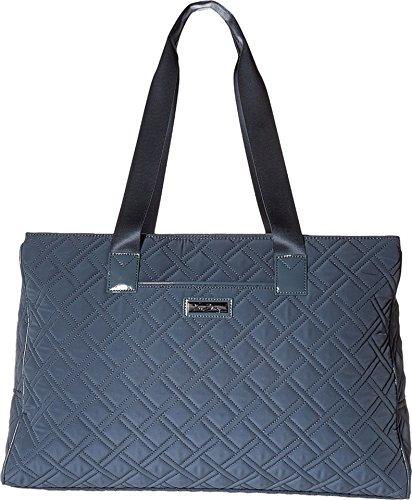 Vera Bradley Luggage Women's Triple Compartment Travel Bag Charcoal/Gray Travel Tote by Vera Bradley (Image #2)