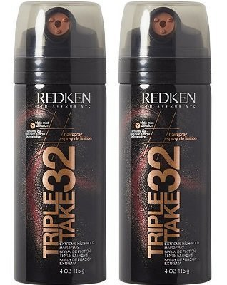 Redken Triple Take 32 Extreme High Hold Hairspray (2- - Spray Triple