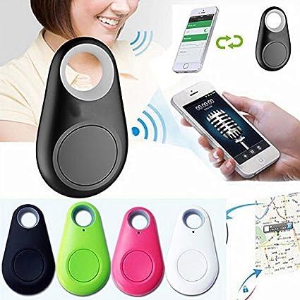 Eleganantamazing - Buscador de rastreo inalámbrico Bluetooth Tracer GPS para Coche o Mascota, Color al