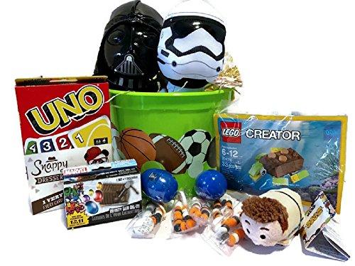 Boys Superhero Easter Gift Basket Set ~ Star Wars Darth Vader & Storm Trooper 7