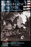 img - for Miami Beach in 1920 book / textbook / text book