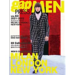 gap PRESS MEN 表紙画像