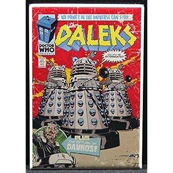 Dr. Who Daleks Refrigerator Magnet.
