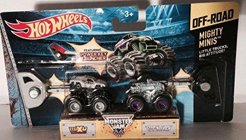 Mini Wheels Hot Truck (Hot Wheels Mighty Minis Max-D and King Krunch Monster Jam)