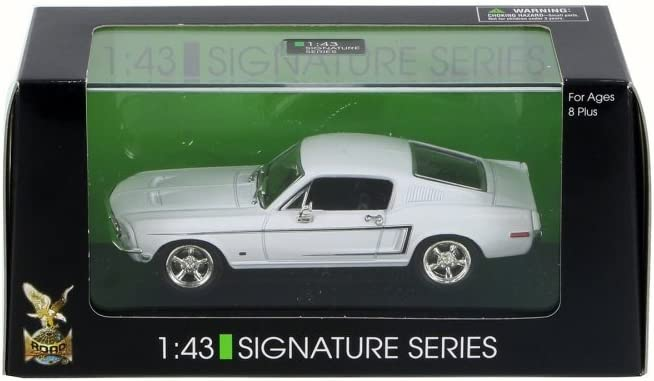 Shelby Cobra GT-500KR 1968 Ford Mustang Fastback 1//43 Yatming Road Signature d