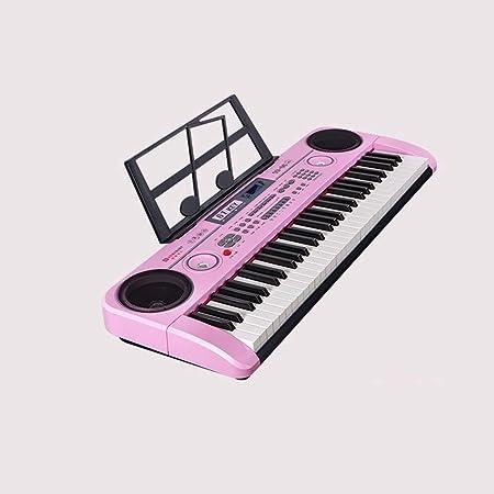 Juguete de piano electrónico, teclado de práctica de 61 ...