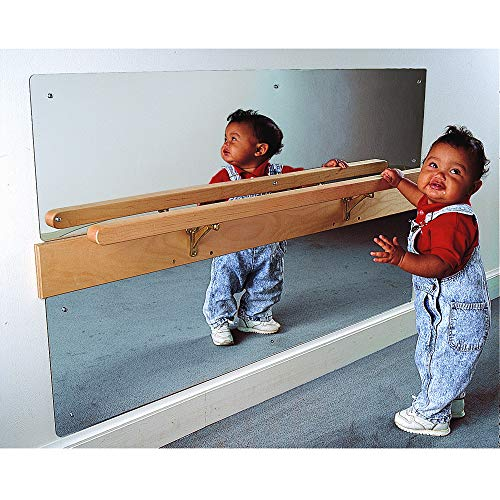 Environments Coordination Infant Mirror, Promotes Motor Skills, Pull up and Balance While Grabbing bar All While Having Fun! (Item # 356001)