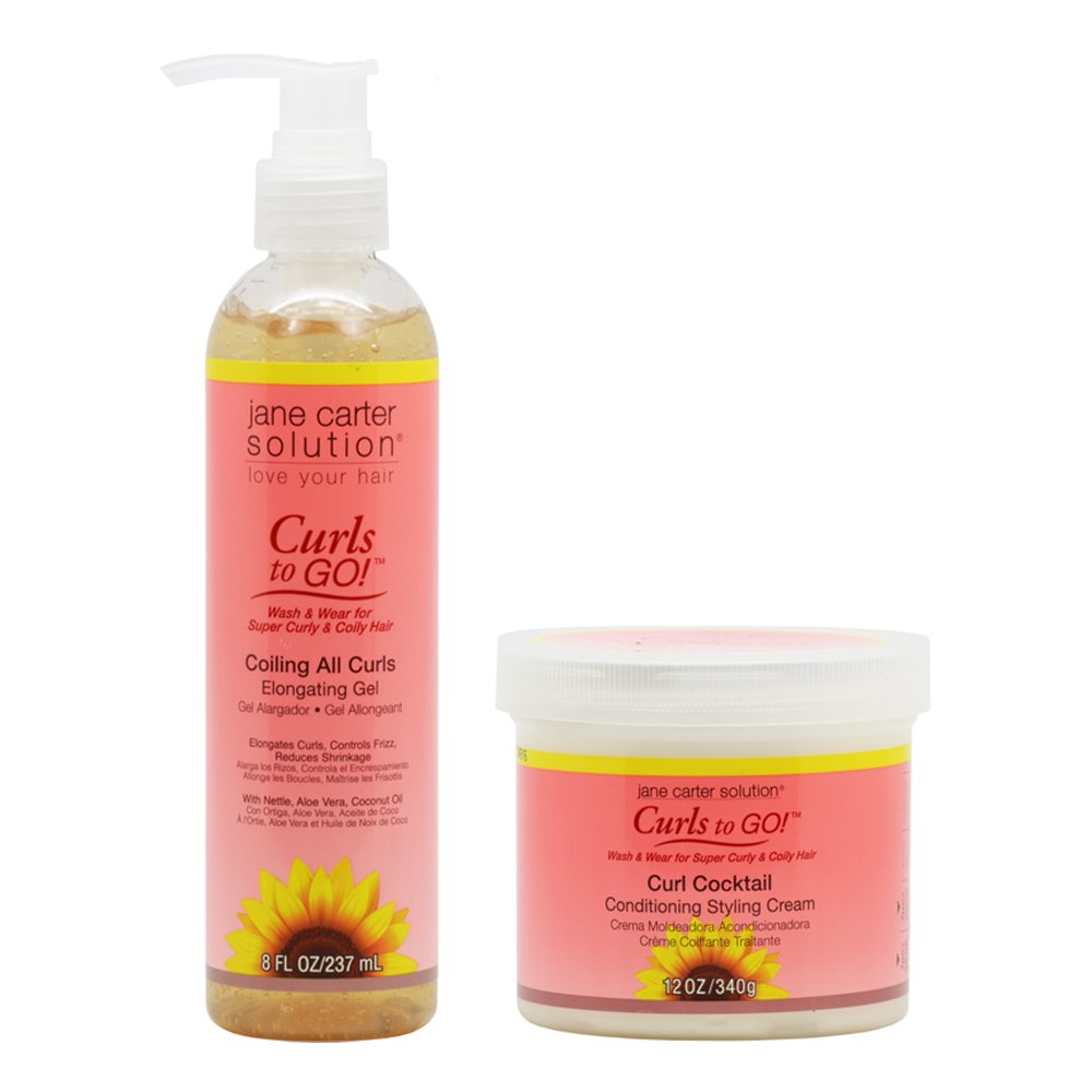 Amazon.com: Jane Carter Curls to GO Coiling All Curls Elongating ...