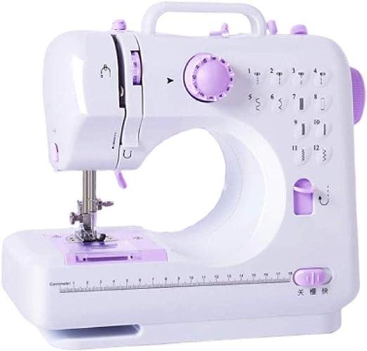 Yuaer Máquina de coser manual Máquina de coser de mesa eléctrica ...
