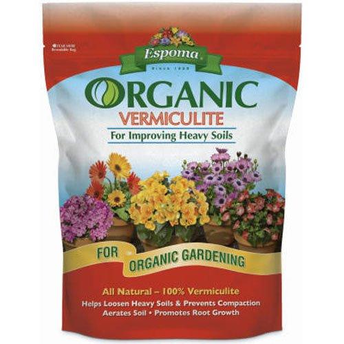 Garden Soil Organic Choice (Espoma VM8 8-Quart Organic Vermiculite)