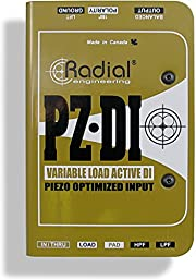 Radial PZ-DI Piezo-optimized Direct Box