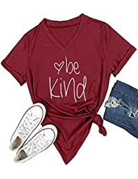 0e550cff858c2 Womens T Shirt Casual Cotton Short Sleeve V-Neck Graphic T-Shirt Tops Tees